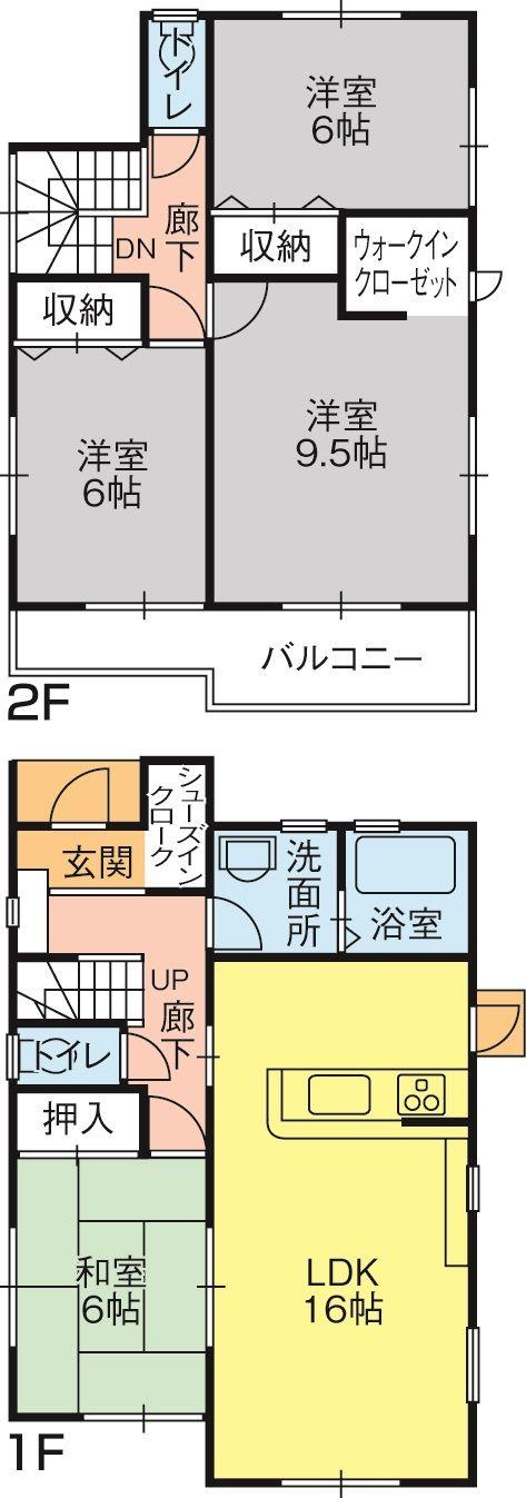 今里町第一1・2号棟(間取修正) - コピー