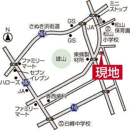 20160819_坂出市高屋町(地図)