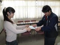 寄付金お渡し(新日本学園)