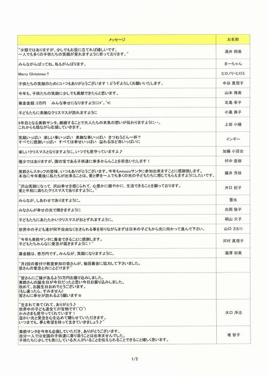 美鈴サンタメッセージ2014-1