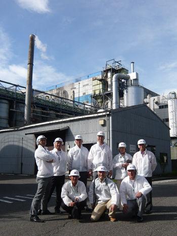 日本一の製糖工場を見学♪