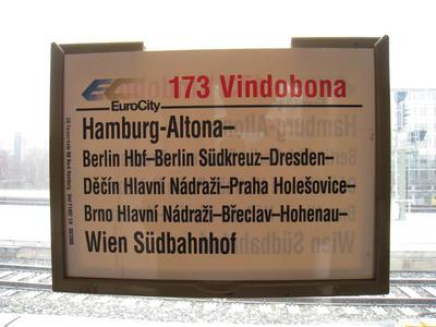 ハンブルグ発ウィーン行 173列車「ヴィンドボナ」 : たゆたへど、しづまず