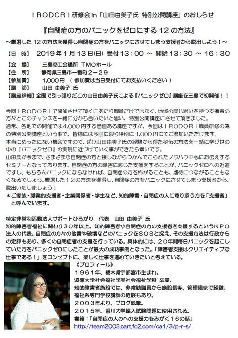 山田由美子講演会