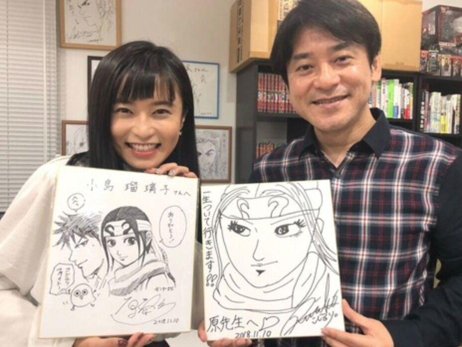 【話題】キングダム作者 原泰久(45) 離婚は今年3月の為、小島瑠璃子との不倫は否定