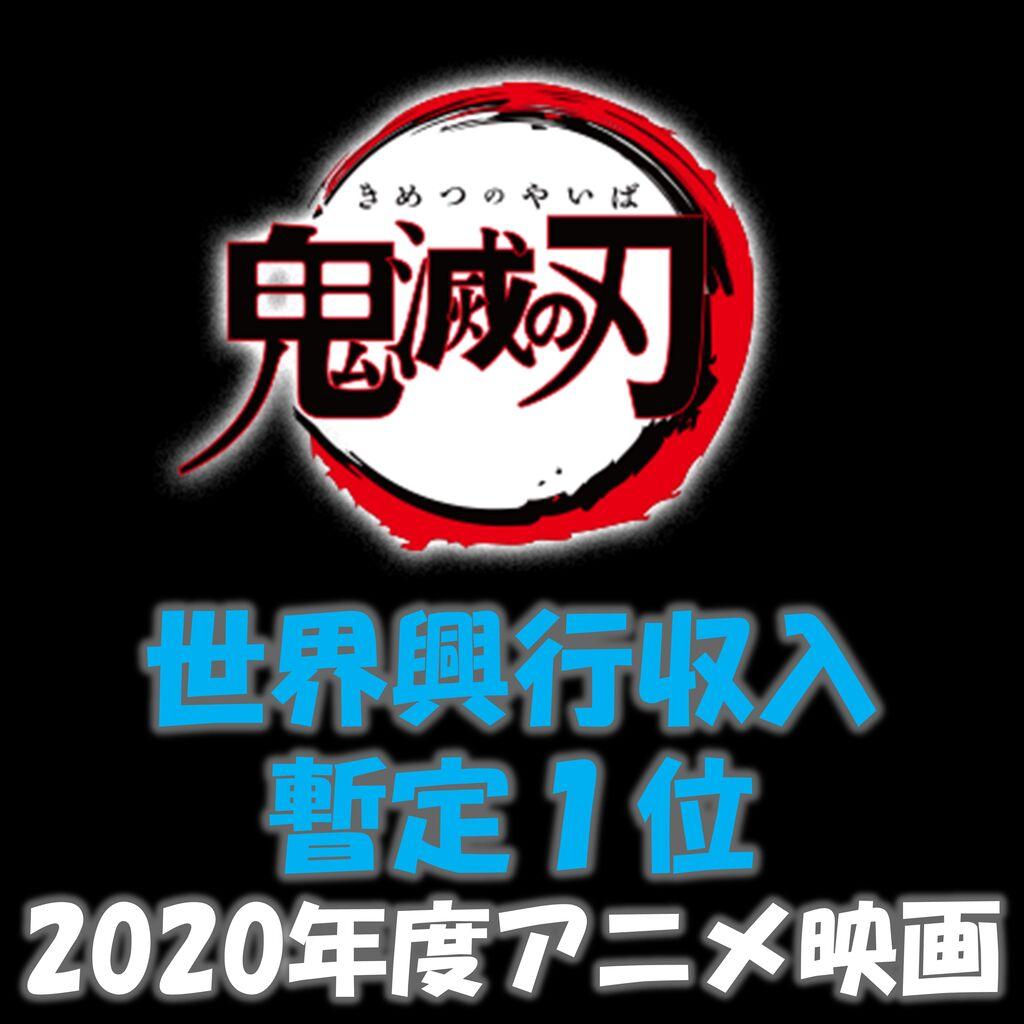 【映画】鬼滅の刃 中国の「八佰」を抜いて世界一の興行収入になってしまう。もちろん日本映画では初