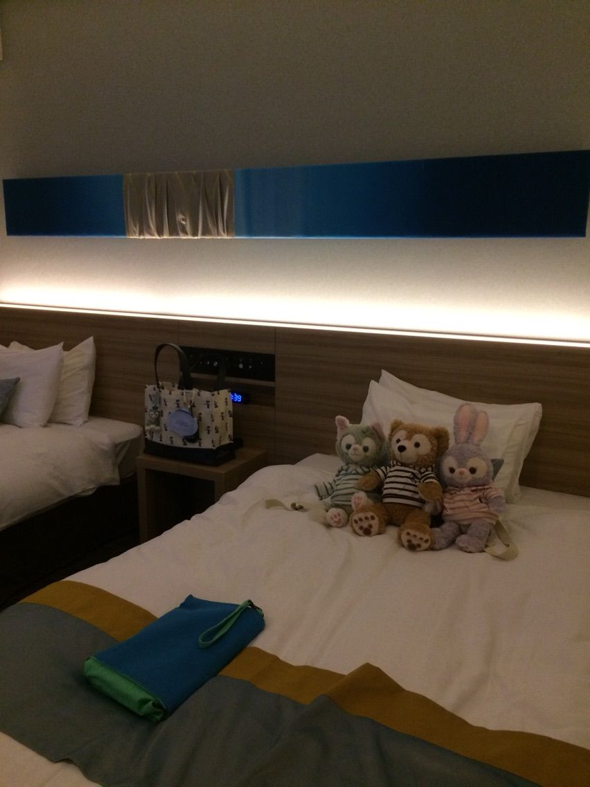 バケパ〜東京ディズニーセレブレーションホテル泊 その1 : やまこと娘
