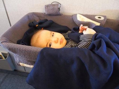 ★初・子連れフライトの記録