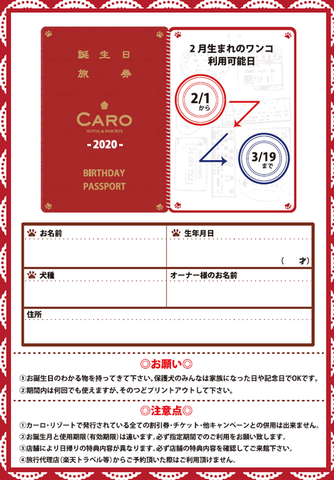 バースデーパスポート4
