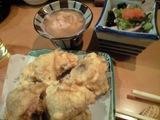 20080417梅じそ揚と真子煮とポン酢白子