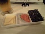 20090907チーズと韓国海苔と辛子めんたい