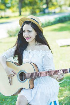 ギター女の子