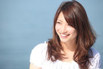 可愛い笑顔
