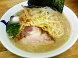 ネギとんこつ醤油ラーメン@松壱家平塚店