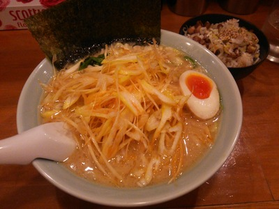 ネギラーメン+ミニチャーシュー丼