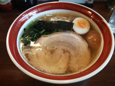 支那そば(680円)+味玉(クーポン)