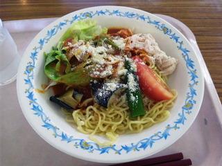 夏野菜トマト冷麺