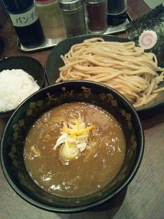 豚骨ベジカレーつけ麺