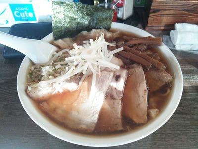 チャーシューワンタンメン1200円
