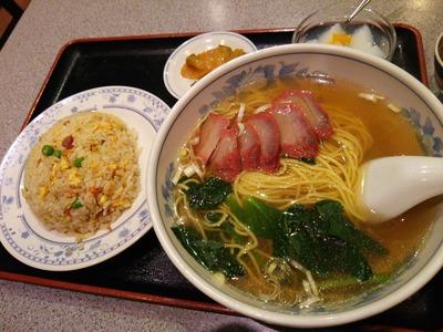 チャーシュー麺炒飯セット850円
