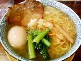 味玉そば[塩]@麺屋空海渋谷店