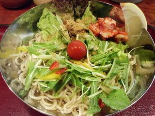 サラダ風塩冷麺