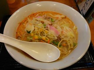 長崎ちゃんぽん(565円)+ピリカラ味噌2辛(62円)