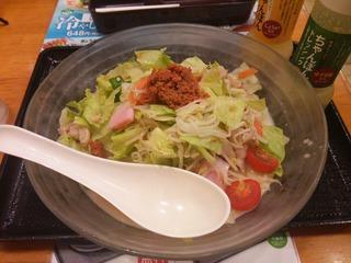 冷やしちゃんぽん麺2倍(799円)