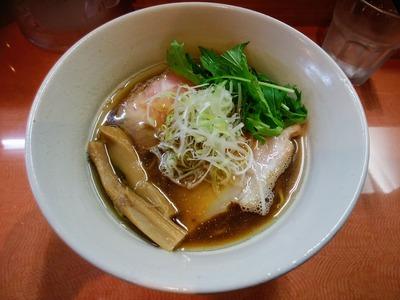 煮干しの拉麺