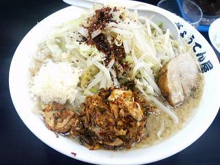 ぎ郎ラーメン+高菜チャー