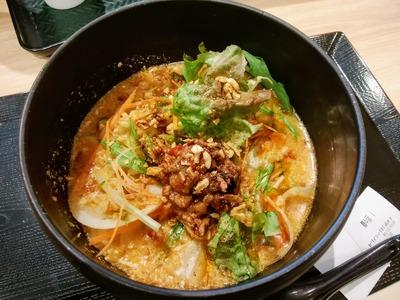 鶏白湯担々麺