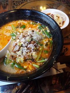 担担麺+水餃子