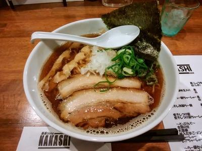 煮干しらー麺黒