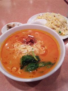 炒飯・タンタン麺セット