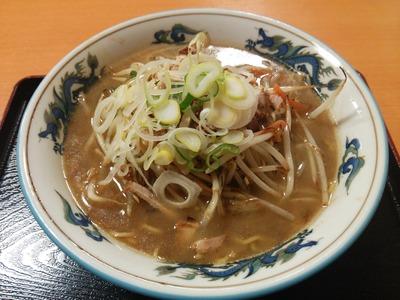 野菜正油ラーメン800円