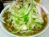 らーめん+野菜大盛