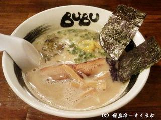 BUBUラーメン+半替玉