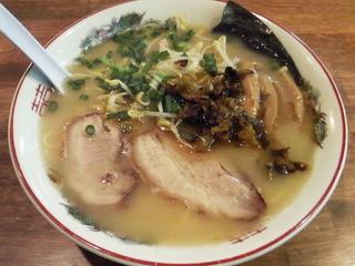 ラーメン+<br> 辛子高菜