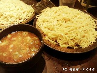 鶏醤油つけ麺[特盛]
