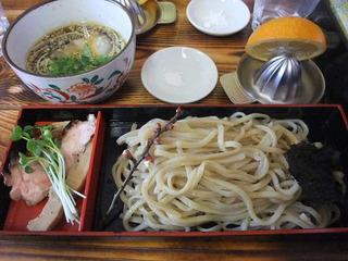 醤油香りつけ麺