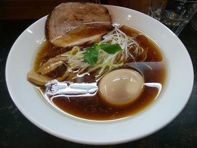 醤油の拉麺