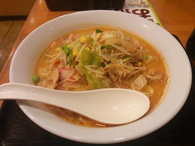 長崎ちゃんぽん麺2倍583円+ピリ辛味噌3辛96円