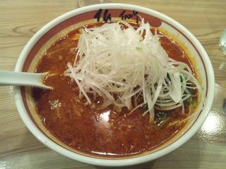 麻辣ねぎ担担麺
