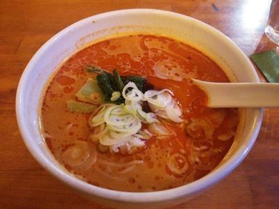 太陽の担々麺850円