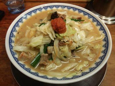 野菜みそ中華そば980円