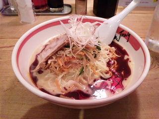 麻辣冷し担担麺