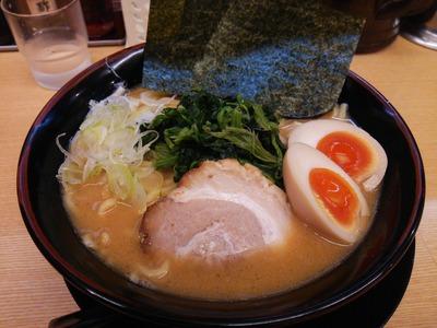 豚骨味噌ラーメン(750円)+大盛り(クーポン)+味玉(クーポン)