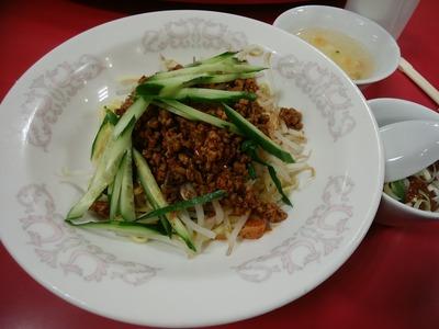 汁なし山椒風担担麺