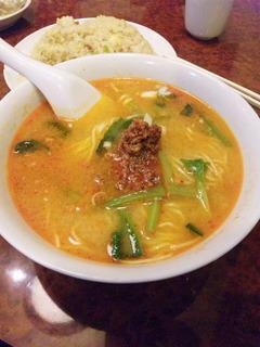 炒飯・担々麺セット
