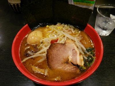 味噌豚骨ラーメン830円+味玉