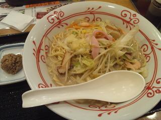 長崎ちゃんぽん+肉味噌